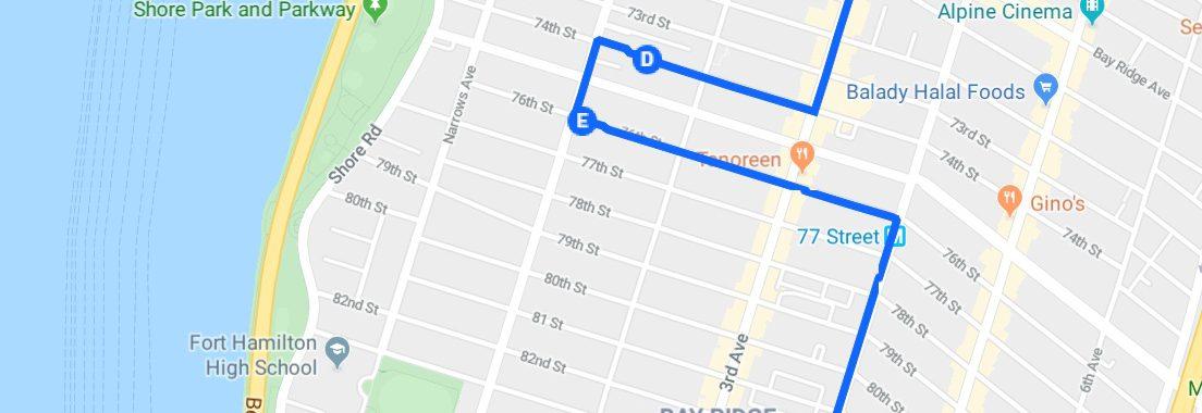Promenade à NYC numero 16: Bay Ridge la tranquille