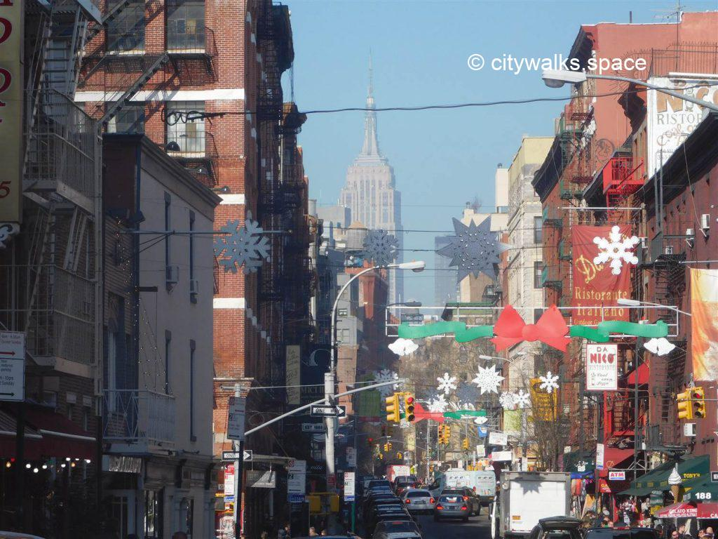 from Brooklyn to Chinatown and Little Italy