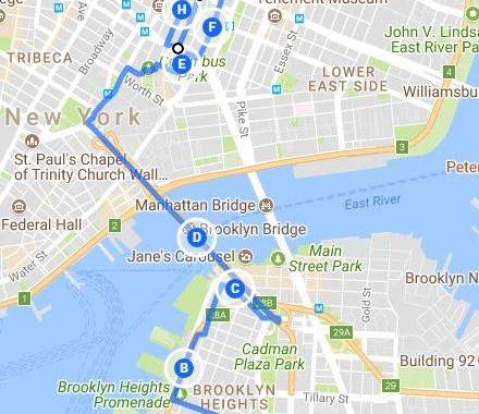 promenade à NYC nume'ro 3