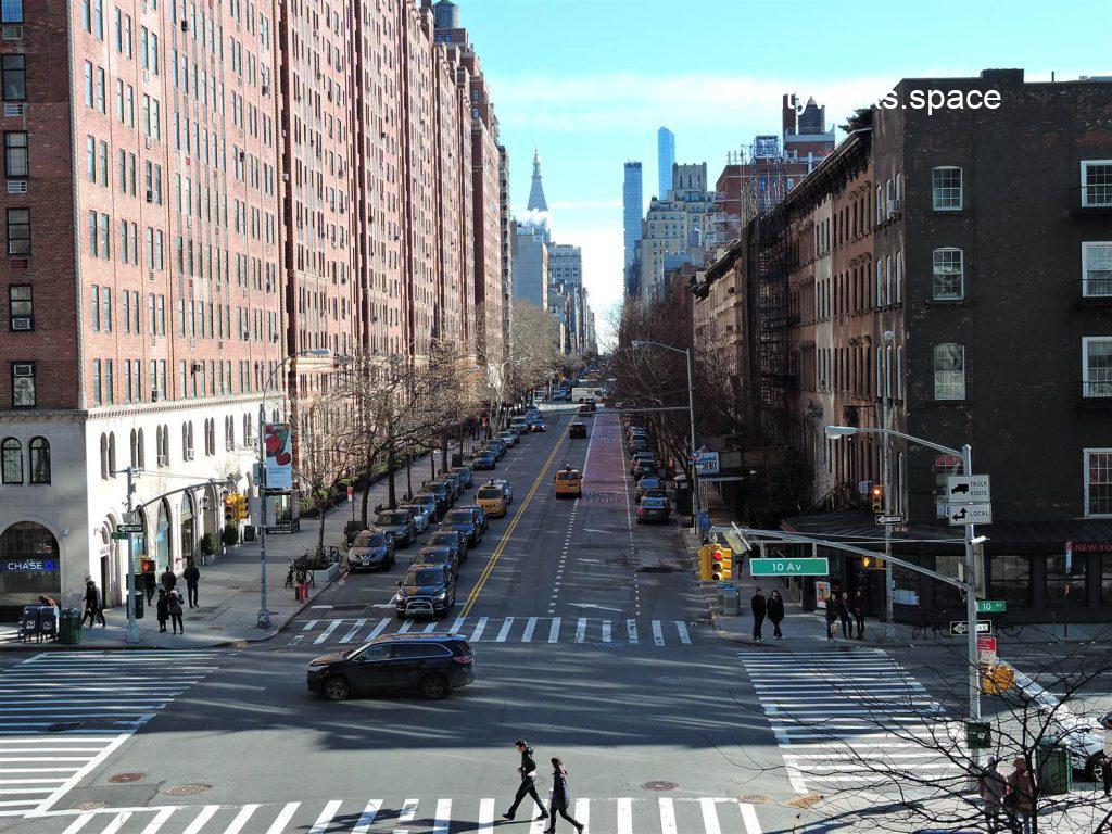 De la High Line à l'Hudson River