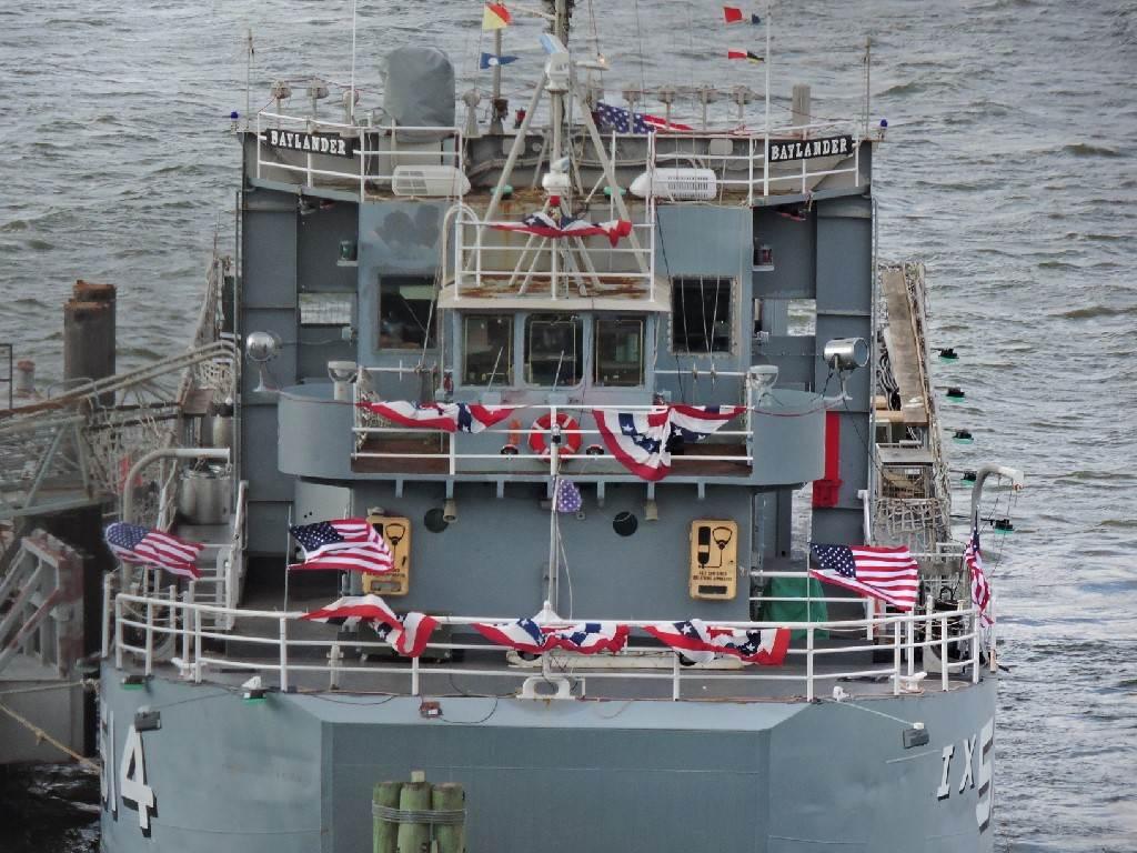 USS Baylander, New York
