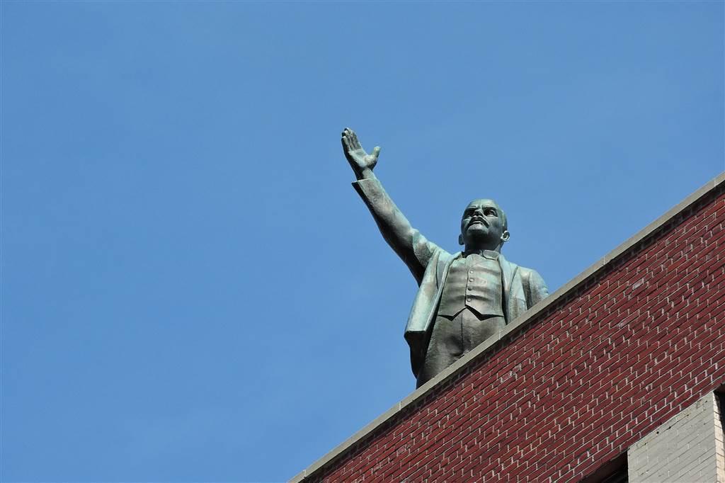 Lenin in East Village